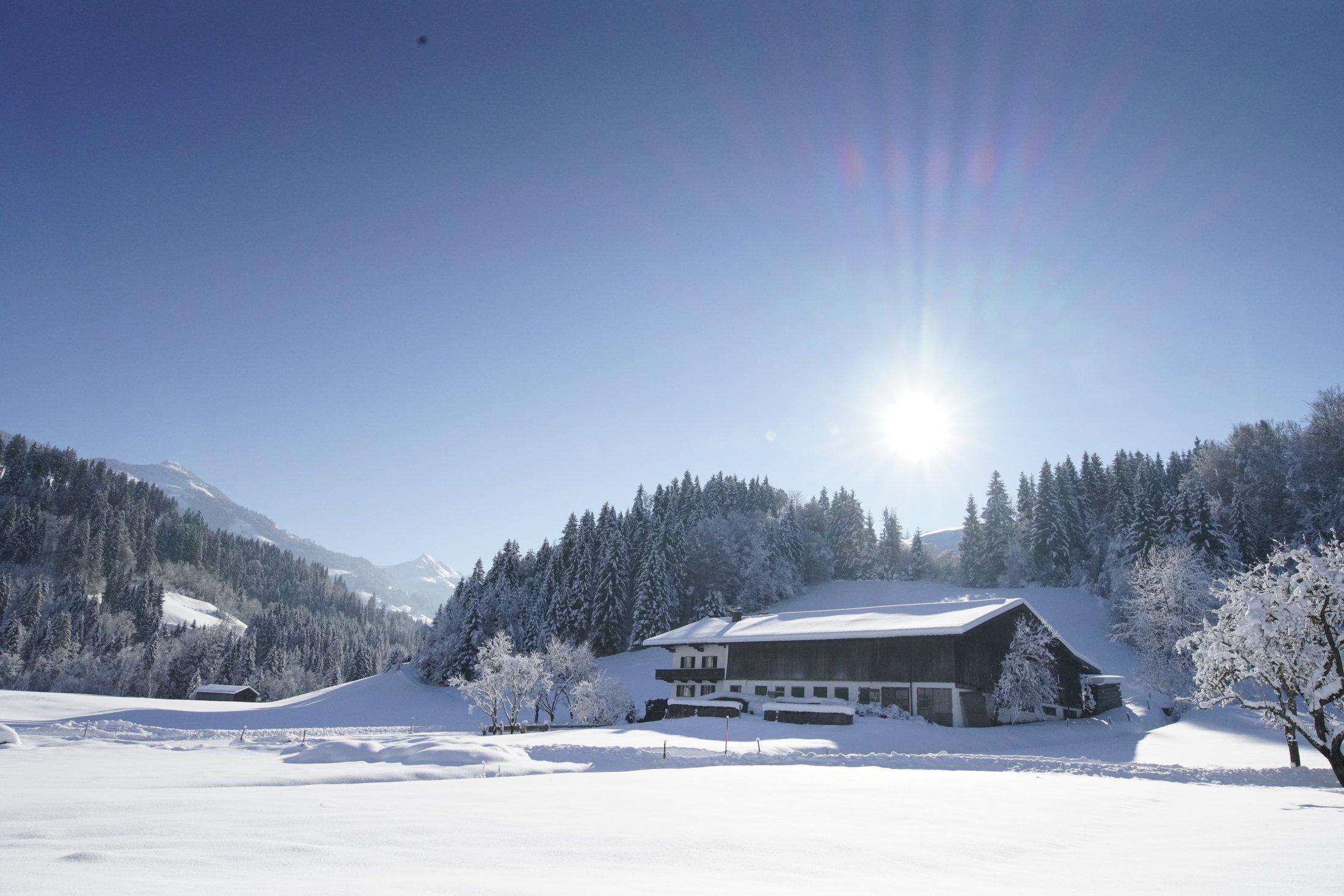 Winteransicht Getznerhof