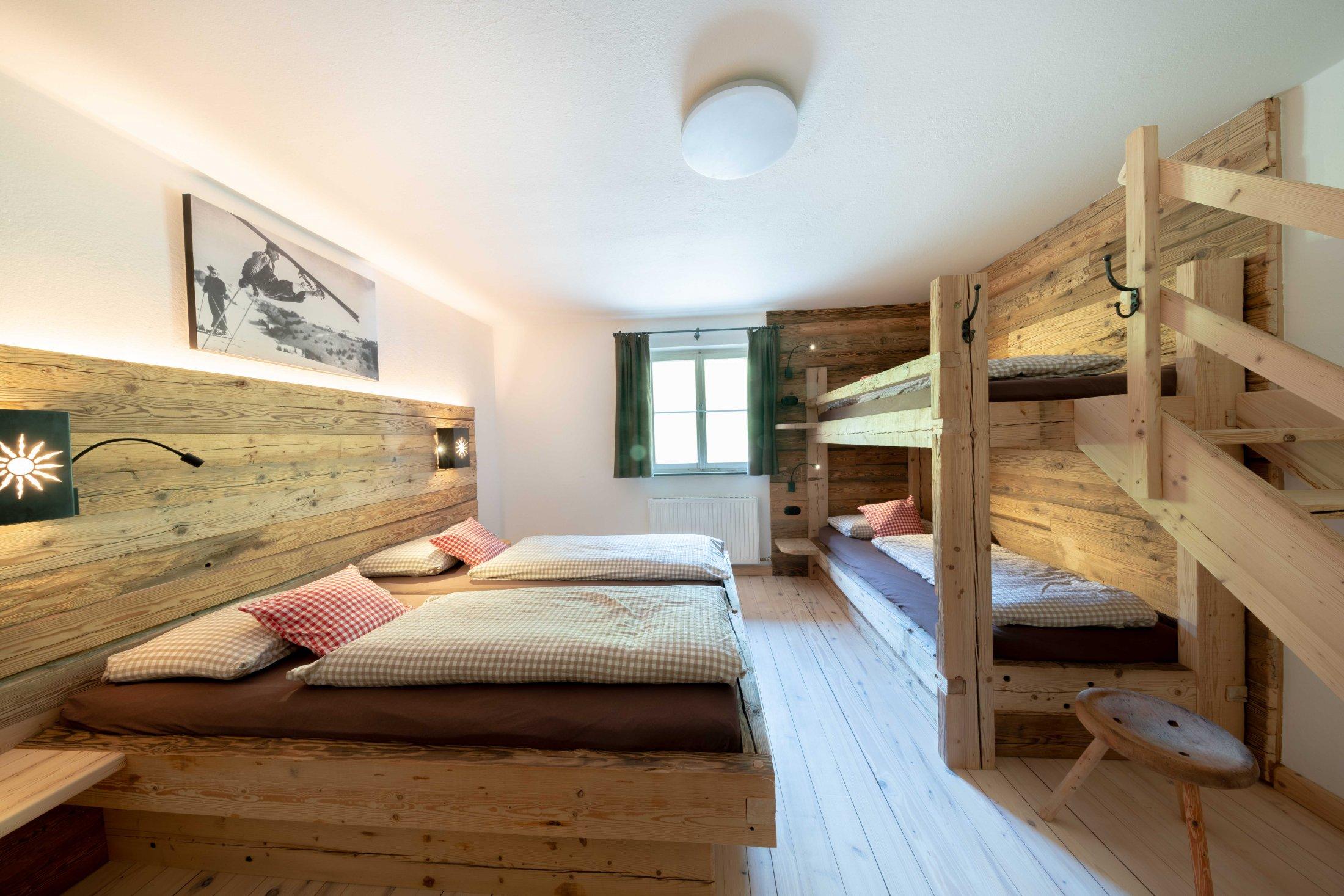 Schlafzimmer im ersten Obergeschoss